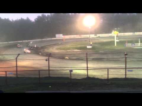 USAC DMA Feature at Bear Ridge Speedway 9/5/15