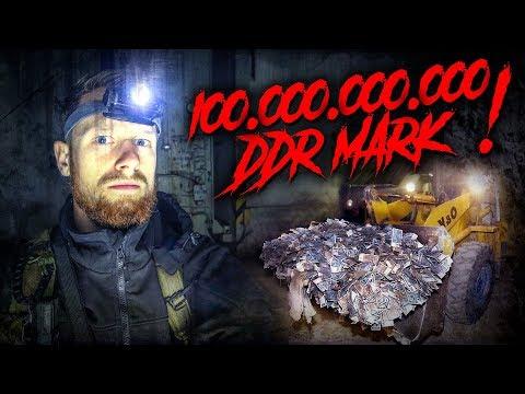 100 MILLIARDEN DDR Mark in WK2 Bunker gefunden - LOST PLACES | Fritz Meinecke