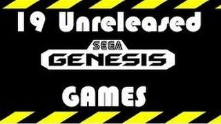 19 Unreleased Sega Genesis Games (Re-cut, better quality)