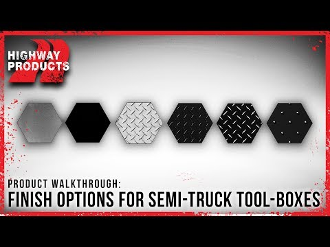 Highway Products | Semi Truck Box Style Options