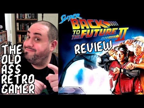 SUPER BACK TO THE FUTURE, PART II REPRODUCTION REVIEW (SNES) | The Old Ass Retro Gamer