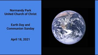NPUCC Worship for Sunday, April 18th, 2021