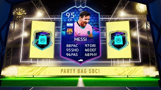 20x FUTURE STARS PARTY BAGS! WE GET MESSI!!! FIFA 21 ULTIMATE TEAM