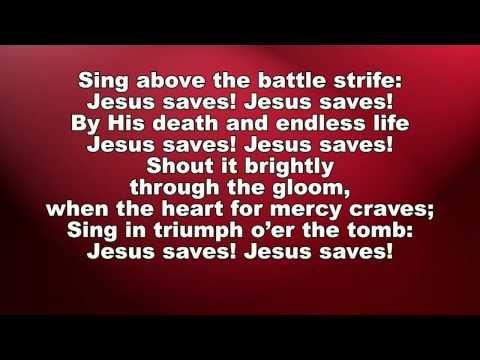 Jesus Saves Small Band with lyrics