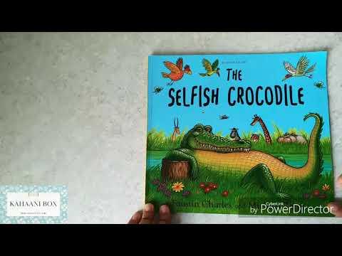 The Selfish Crocodile  (Hindi) | Children's Books Read Aloud By Neha