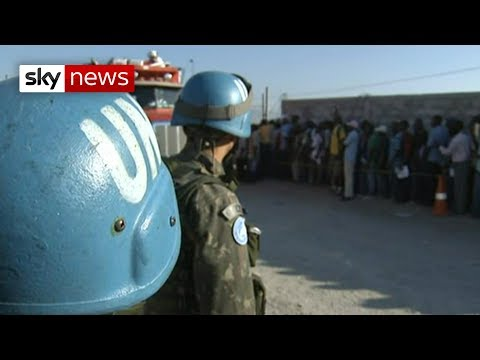 Haiti: UN peacekeepers 'traded food for sex'