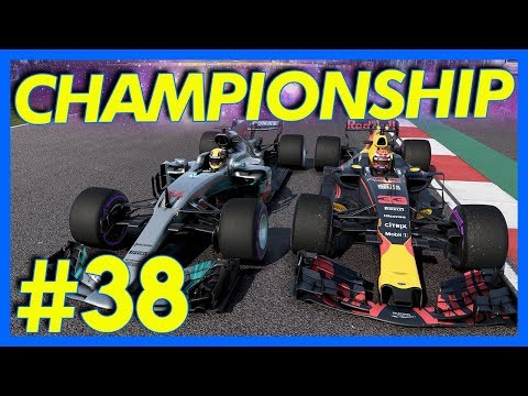 F1 2017 Career Mode : CHAMPIONSHIP RACE!! (Part 38)