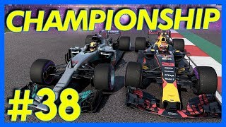 F1 2017 Career Mode : CHAMPIONSHIP RACE!! (Part 38)