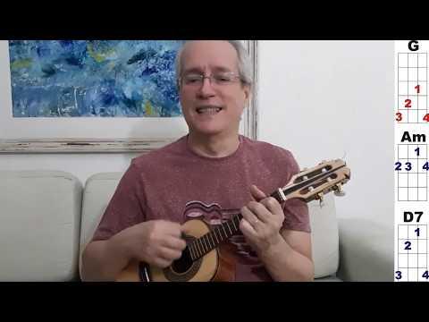 Mini aula de cavaquinho 4 músicas do Martinho da Vila fáceis e facilitadas.