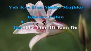 Raat kali ek khwab mein aayi Buddha Milgaya 1971 Hindi Karaoke from Hyderabad Karaoke Club