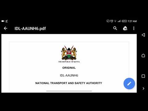 How To Apply For New Curriculum NTSA Driving License in Kenya, From E Citizen portal thumbnail