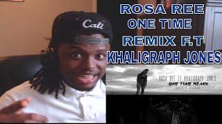 Rosa Ree - One Time Remix F.t Khaligraph Jones - REACTION