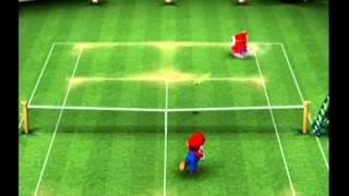 Mario Power Tennis (Nintendo GameCube) Playthrough - Part 9 {Star Cup - Singles}