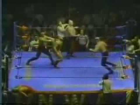 The Road Warriors vs. Nikita & ivan koloff