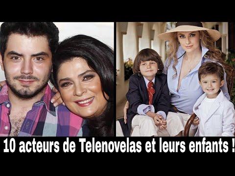 10 acteurs de Telenovelas et leurs enfants !