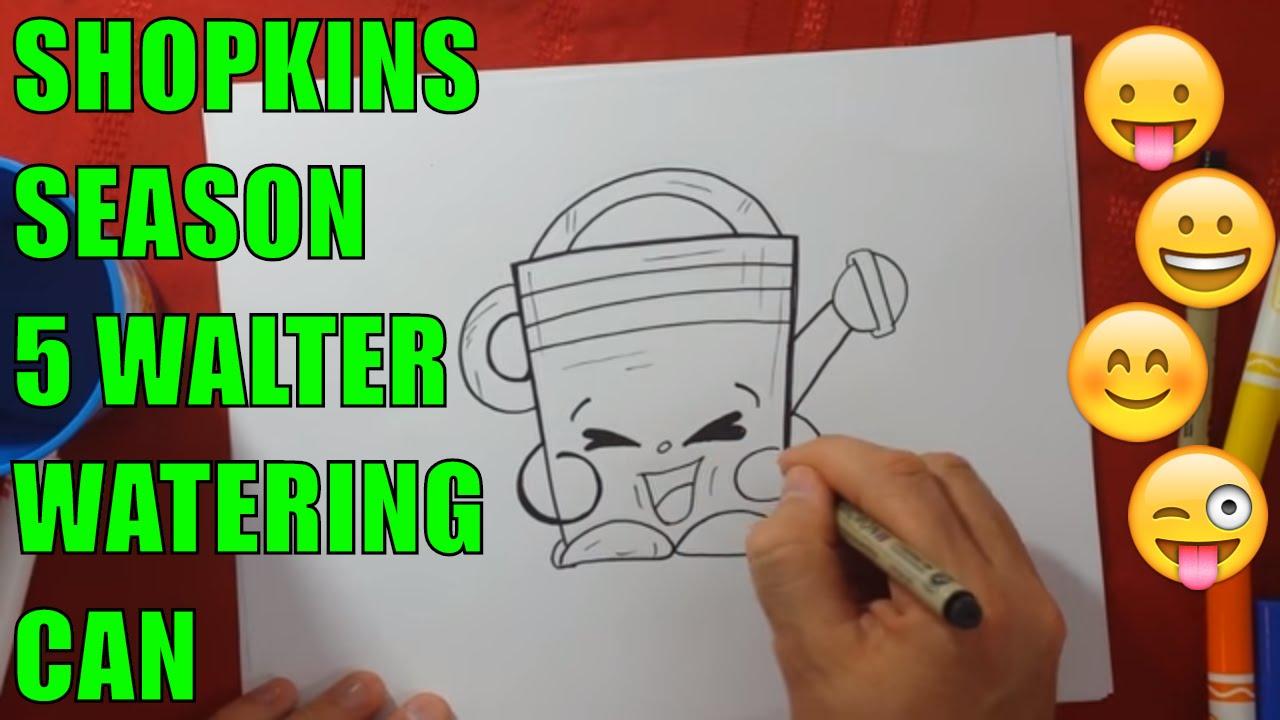 Shopkins Season 5 Walter Watering Can set