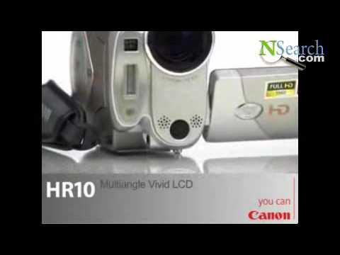 Canon Camcorders -HR10 (HD) Mini Camcorder