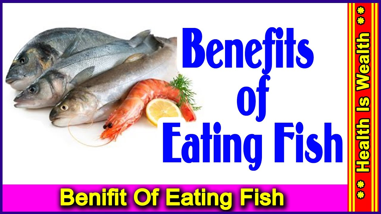 eating fish is healthy Home » your health » children's health news » 10 little known health benefits of eating fish 10 little known health benefits of eating heart-healthy snack.