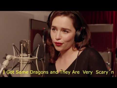Game of Thrones Coldplay music Emilia Clarke Daenerys Targaryen Song Lyrics Video