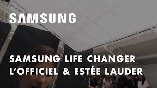 Samsung et L'Officiel présentent les coulisses des 95 ans de L'Officiel avec Estée Lauder