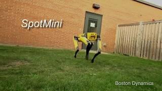 SpotMini - робот для дома