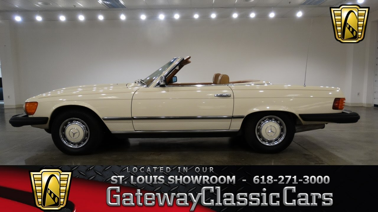 1977 mercedes benz 450sl stock 6921 gateway classic cars for Mercedes benz in st louis