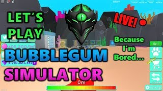 Let's Just Chill And Play Some BGS! (Roblox Bubble Gum Simulator)