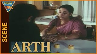 Arth Hindi Movie || Discussion Between Kharbanda And Smita Patil || Eagle Entertainment Official