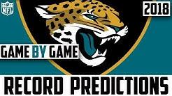 JACKSONVILLE JAGUARS RECORD PREDICTION 2018 - Predicting The Jacksonville Jaguars 2018 Record (NFL)