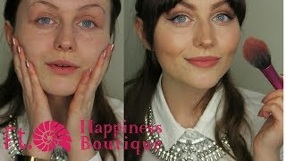 ASMR~ Relaxing Makeup Get Ready W/ Me Ft.Happiness Boutique