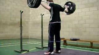 Mike 110 kg snatch balance @ 65 kg @ SCAT training single