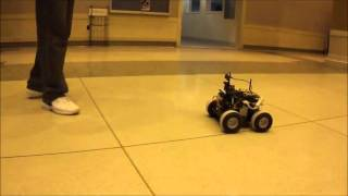 Autonomous Targeting Vehicle (ATV)  -  [Purdue ECE 477]  Final Demonstration