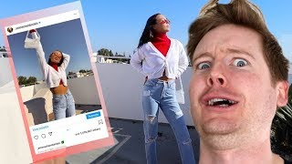 TAKING MY OWN INSTAGRAM PHOTOS embarrassing - Emma Chamberlain Reaction