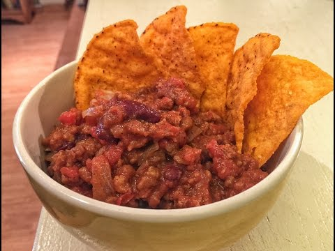 Chili with Veggie Crumbles | Meatless Monday Week 23