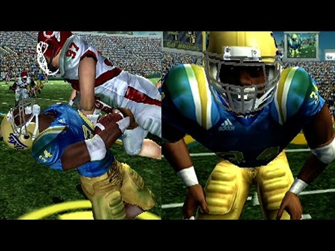 NCAA Football 2007 (ps2) Marcus Dupree Campus Legend ep2