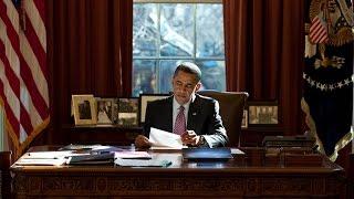 Барак Обама в объективе. Белый Дом. (National Geografic, 2010)