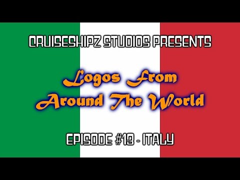 Logos From Around The World - Episode #13 - Italy