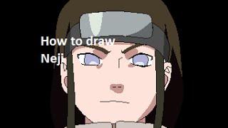 How to draw Neji