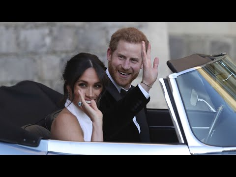 Britain's Prince Harry weds mixed-race American actress Meghan Markle
