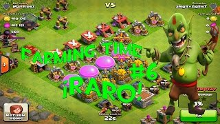 EL ATAQUE MAS RARO DE CLASH OF CLANS| FARMING TIME #6 | Jugando Clash of Clans