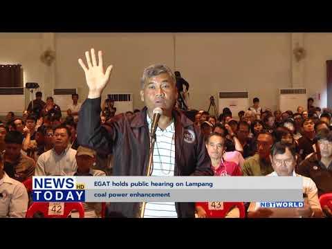 EGAT holds public hearing on Lampang coal power enhancement
