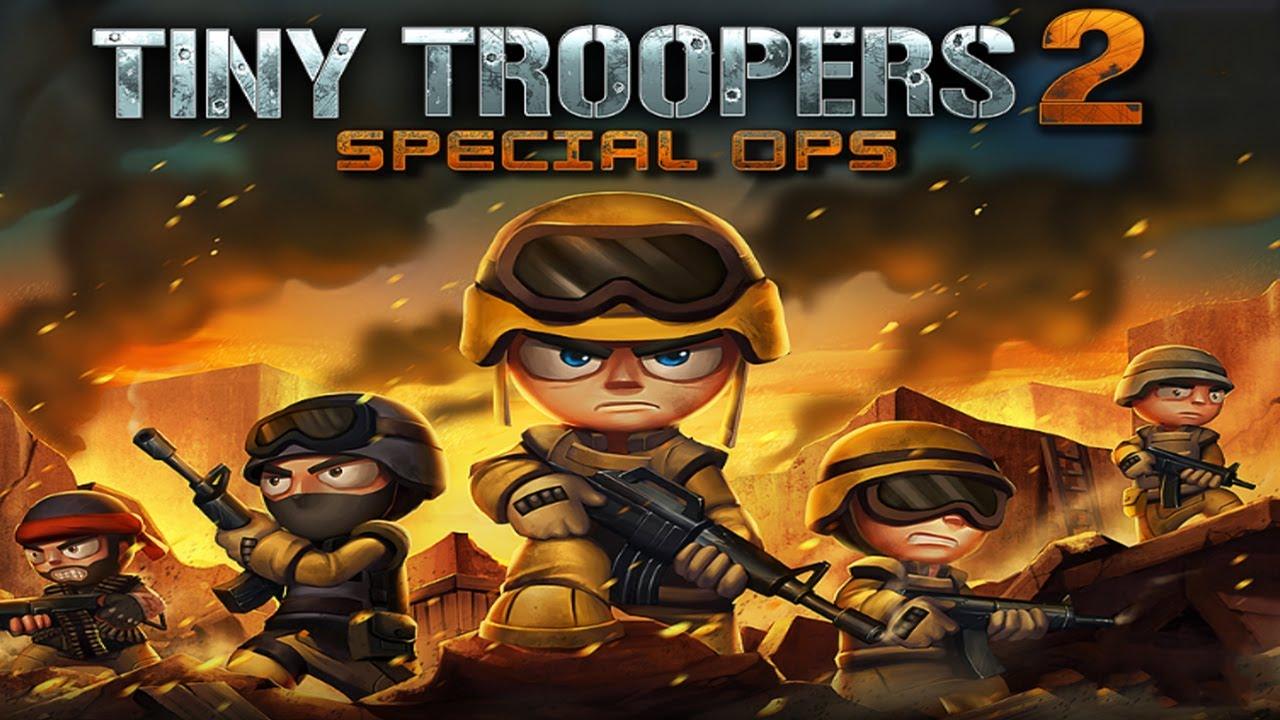 Game Perang HP Android Terbaik dan Seru Offline Tiny Troopers 2 : Special Ops