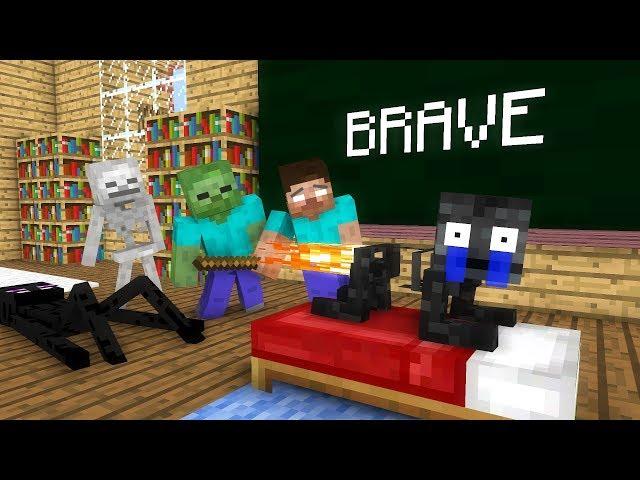 Monster School: Brave - Minecraft animation