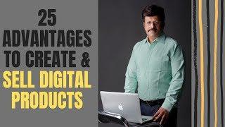 Episode#8 - 25 Vorteile Zum Erstellen & Verkaufen Sie Digitale Produkte l Bhaskar Rajagopal l Freiheit Empowerer