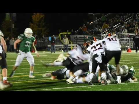 Round 2: St.Charles East football vs. New Trier 11/5/16