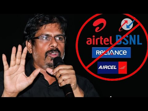 """""""BSNL, Airtel, Aircel, Reliance are Main Reason behind PIRACY"""" -RK Selvamani Bold Statement 