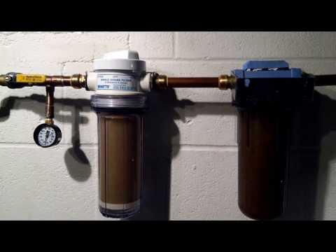 Well Water Filters - Spindown, Sediment, Carbon Block And Reverse Osmosis