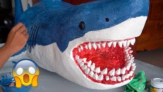 How To Make a Giant Shark