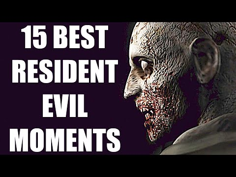 15 Best Moments In The Entire Resident Evil Series