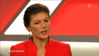 Sahra Wagenknecht: GroKo nein, AfD unsozial, SPD moribund